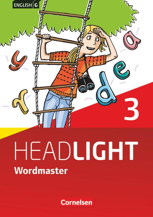 English G Headlight - Wordmaster mit Lösungen - Band 3: 7. Schuljahr