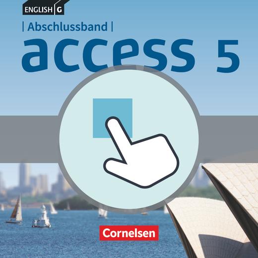 English G Access - Interaktive Übungen als Ergänzung zum Workbook - Abschlussband 5: 9. Schuljahr