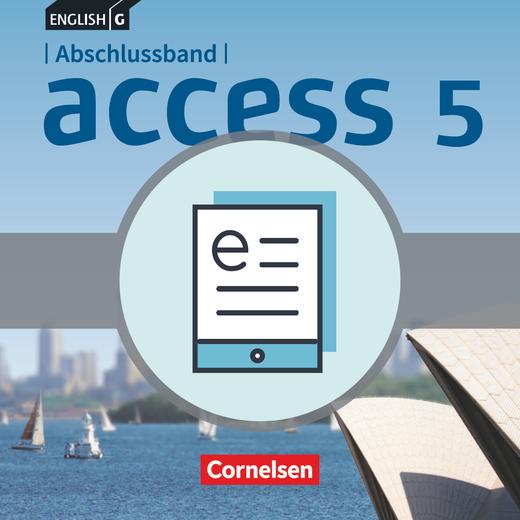 Access - Schülerbuch als E-Book - Abschlussband 5: 9. Schuljahr