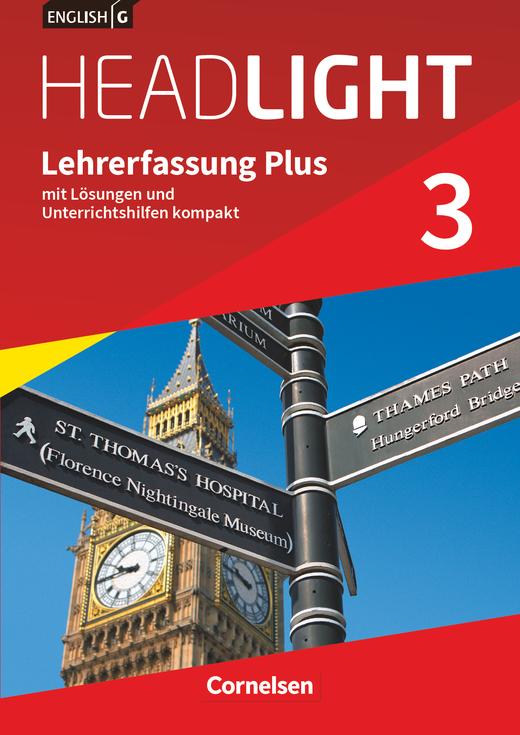English G Headlight - Lehrerfassung Plus - Band 3: 7. Schuljahr