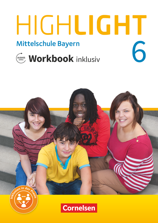 Highlight - Workbook inklusiv mit Audios online - 6. Jahrgangsstufe