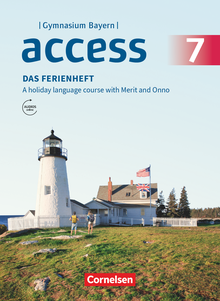 Access - Das Ferienheft - Arbeitsheft - 7. Jahrgangsstufe