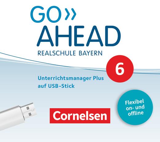 Go Ahead - Unterrichtsmanager Plus auf USB-Stick - 6. Jahrgangsstufe
