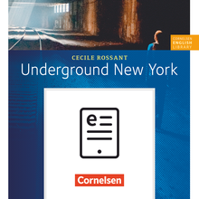 Cornelsen English Library - Underground New York - Lektüre zu English G 21 als E-Book (ePUB) - 8. Schuljahr, Stufe 2