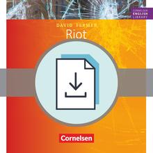 Cornelsen English Library - Riot - Arbeitsblätter mit Lösungen als Download - 9. Schuljahr, Stufe 2