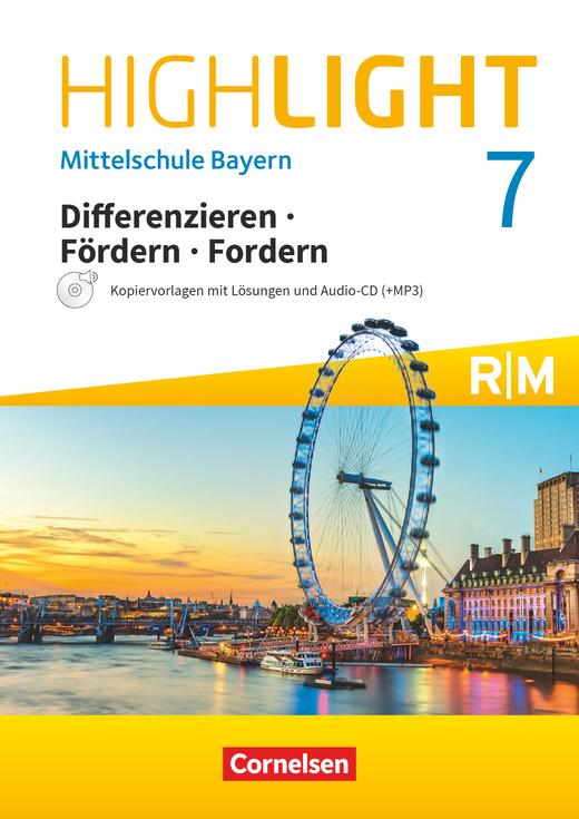 Highlight - Differenzieren, Fördern, Fordern - Kopiervorlagen Differenzierung mit CD-Extra - 7. Jahrgangsstufe
