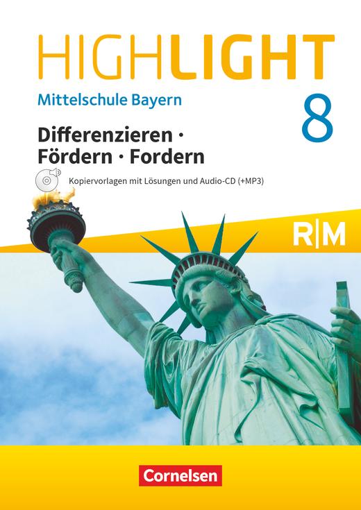 Highlight - Differenzieren, Fördern, Fordern - Kopiervorlagen Differenzierung mit CD-Extra - 8. Jahrgangsstufe