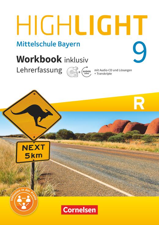 Highlight - Workbook inklusiv mit CD-Extra und Audios online - Lehrerfassung - 9. Jahrgangsstufe
