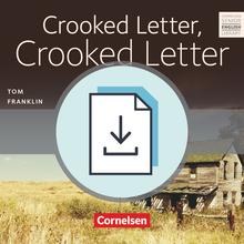 Cornelsen Senior English Library - Crooked Letter, Crooked Letter - Handreichungen für den Unterricht als Download (ohne Audio-Dateien) - Ab 11. Schuljahr