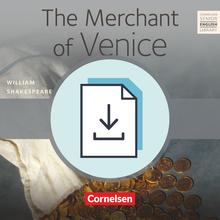 Cornelsen Senior English Library - The Merchant of Venice - Handreichungen für den Unterricht mit Klausurvorschlägen als Download - Ab 11. Schuljahr