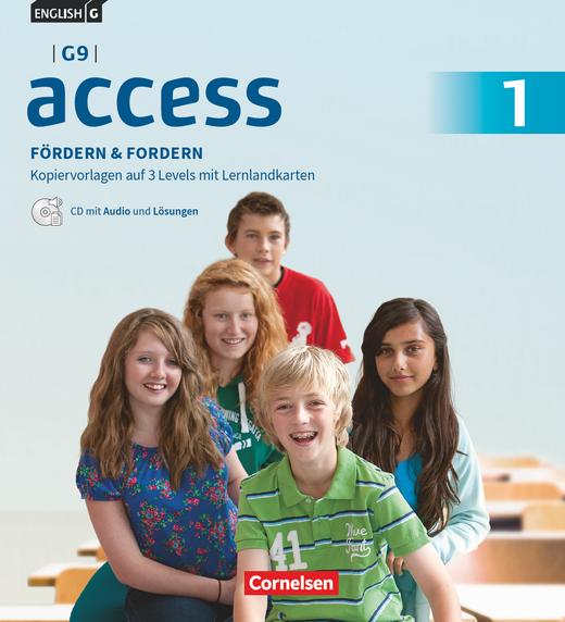 Access - Fördern & Fordern - Fördermaterialien mit Audios und Lösungen auf CD im Ordner - Band 1: 5. Schuljahr