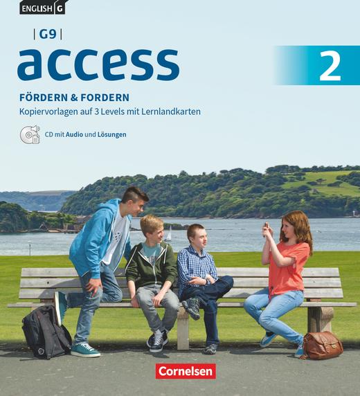 Access - Fördern & Fordern - Fördermaterialien mit Audios und Lösungen auf CD im Ordner - Band 2: 6. Schuljahr