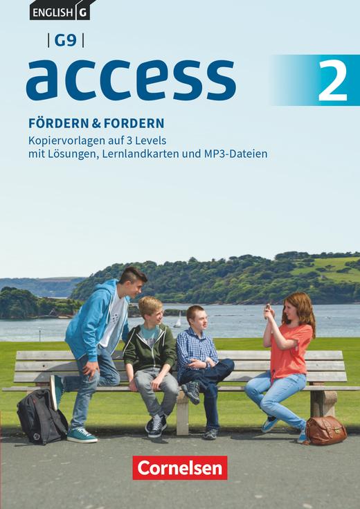 Access - Fördern & Fordern - Fördermaterialien auf CD-Extra - Band 2: 6. Schuljahr