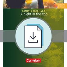 Cornelsen English Library - A Night in the Zoo - Handreichungen für den Unterricht als Download - 5. Schuljahr, Stufe 3