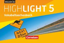 English G Highlight - Vokabeltaschenbuch - Band 5: 9. Schuljahr