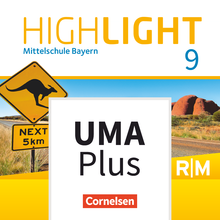 Highlight - Unterrichtsmanager Plus - mit Download für Offline-Nutzung - 9. Jahrgangsstufe