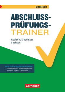 Abschlussprüfungstrainer Englisch - Realschulabschluss - Arbeitsheft mit Lösungen und Online-Training Grundwissen - 10. Schuljahr