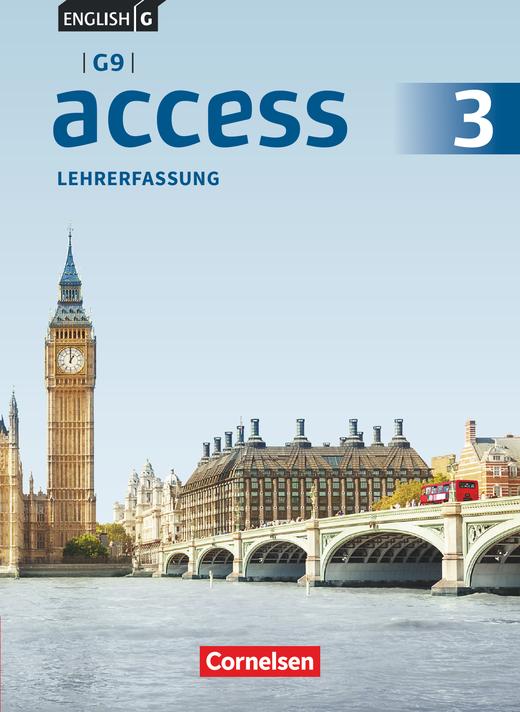 English G Access - Schülerbuch - Lehrerfassung - Band 3: 7. Schuljahr