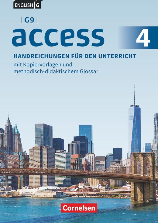 Access - Handreichungen für den Unterricht - Band 4: 8. Schuljahr