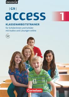 English G Access - Klassenarbeitstrainer mit Audios und Lösungen online - Band 1: 5. Schuljahr