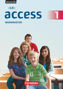 English G Access - Wordmaster mit Lösungen - Band 1: 5. Schuljahr