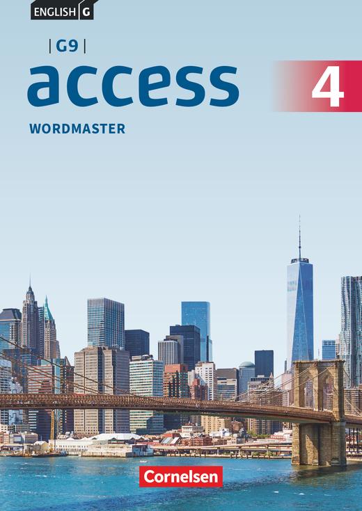 English G Access - Wordmaster mit Lösungen - Band 4: 8. Schuljahr