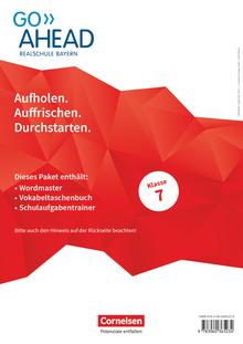 Go Ahead - Arbeitshefte Wordmaster, Vokabeltaschenbuch und Schulaufgabentrainer - 7. Jahrgangsstufe