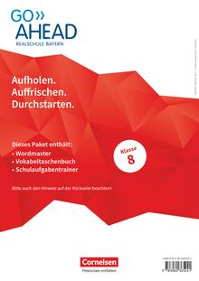 Go Ahead - Arbeitshefte Wordmaster, Vokabeltaschenbuch und Schulaufgabentrainer - 8. Jahrgangsstufe