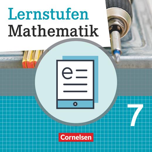 Lernstufen Mathematik - Schülerbuch als E-Book - 7. Schuljahr