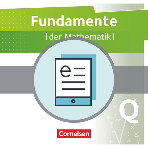 Fundamente der Mathematik - Schülerbuch als E-Book - Qualifikationsphase - Grundkurs