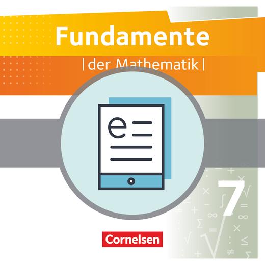 Fundamente der Mathematik - Schülerbuch als E-Book - 7. Schuljahr