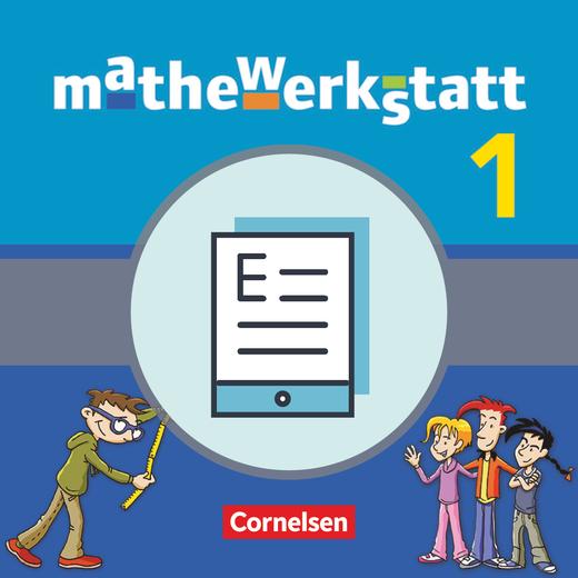 Mathewerkstatt - Schülerbuch als E-Book - Band 1