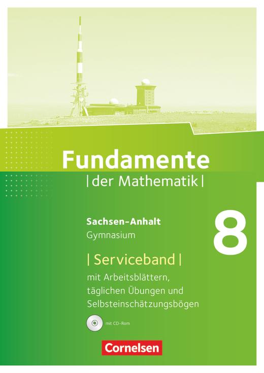 Fundamente der Mathematik - Serviceband - 8. Schuljahr