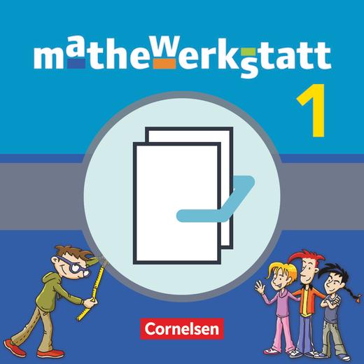 Mathewerkstatt - Schülerbuch mit Rechenbausteine-Training - Band 1