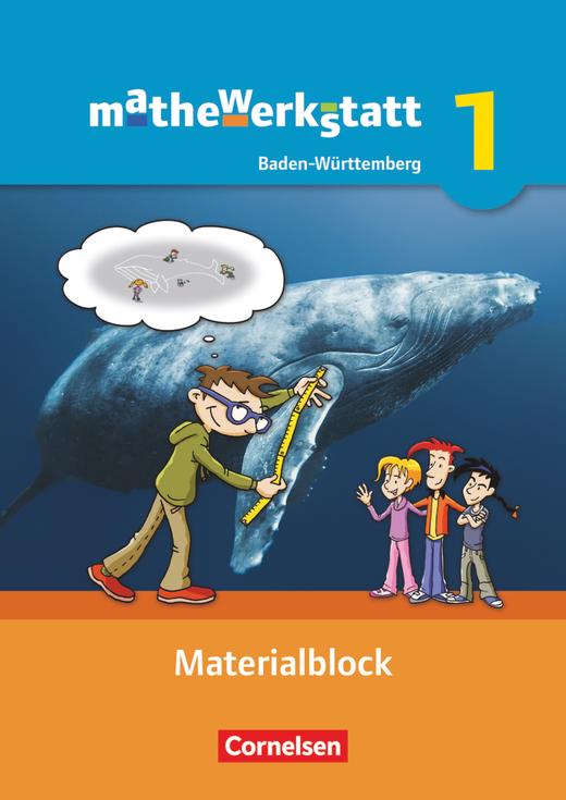 Mathewerkstatt - Materialblock - Band 1