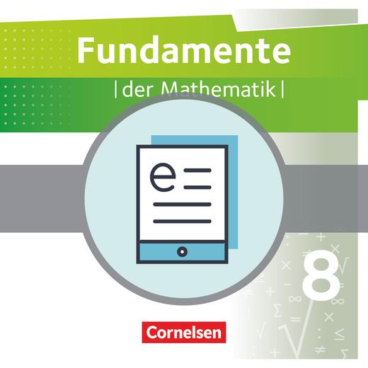 Fundamente der Mathematik - Schülerbuch als E-Book - 8. Schuljahr