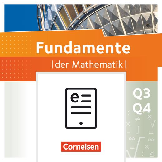 Fundamente der Mathematik - Schülerbuch als E-Book - 12. Schuljahr - Leistungskurs
