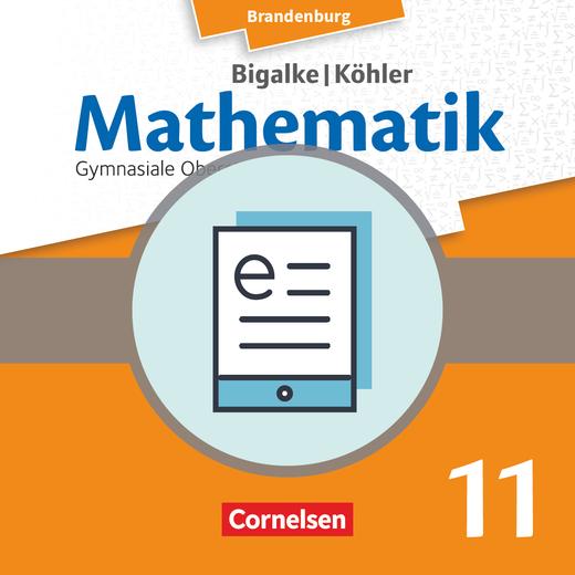 Bigalke/Köhler: Mathematik - Grundkurs - Schülerbuch als E-Book - 11. Schuljahr