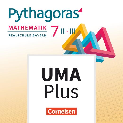 Pythagoras - Unterrichtsmanager Plus - mit Download für Offline-Nutzung - 7. Jahrgangsstufe (WPF II/III)