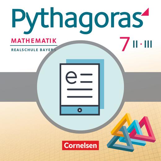 Pythagoras - Schülerbuch als E-Book - 7. Jahrgangsstufe (WPF II/III)