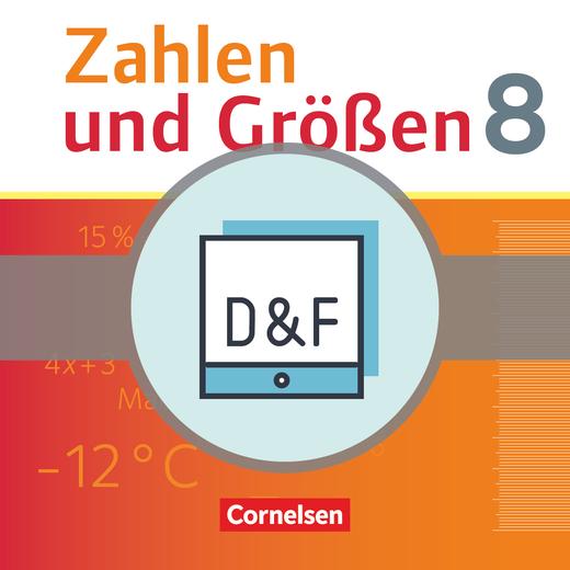 Zahlen und Größen - Diagnose und Fördern online - 8. Schuljahr