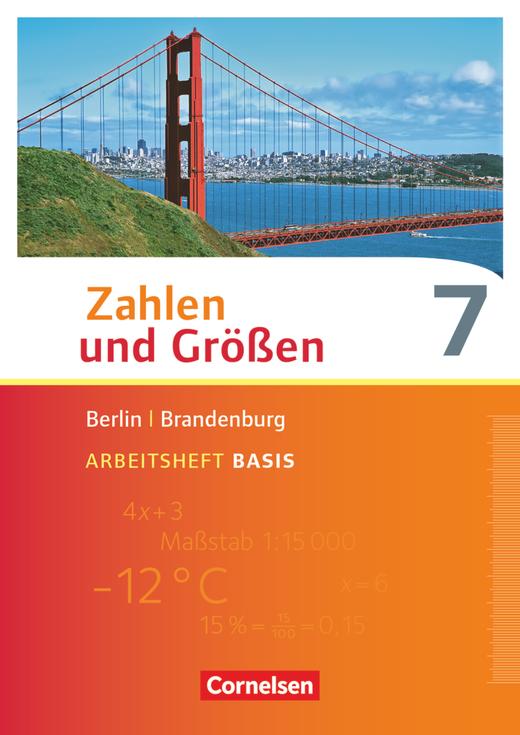 Zahlen und Größen - Arbeitsheft Basis mit Online-Lösungen - 7. Schuljahr