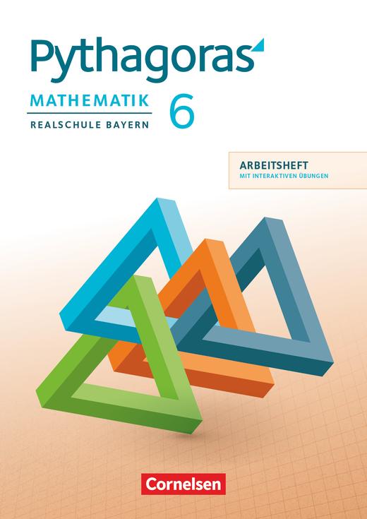 Pythagoras - Arbeitsheft mit eingelegten Lösungen und interaktiven Übungen auf scook.de - 6. Jahrgangsstufe