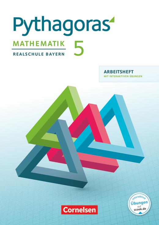 Pythagoras - Arbeitsheft mit eingelegten Lösungen und interaktiven Übungen auf scook.de - 5. Jahrgangsstufe