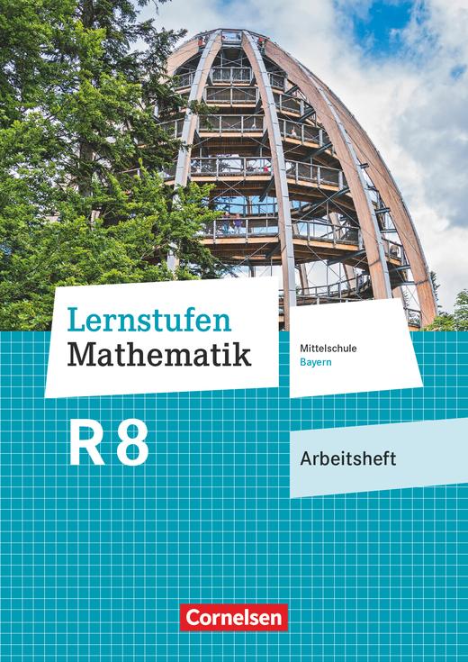 Lernstufen Mathematik - Arbeitsheft mit eingelegten Lösungen - 8. Jahrgangsstufe