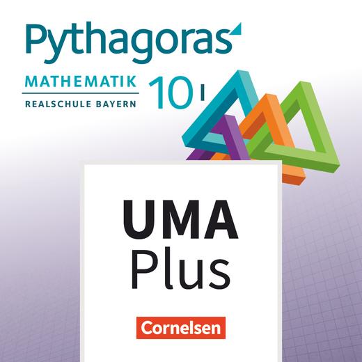 Pythagoras - Unterrichtsmanager Plus - mit Download für Offline-Nutzung - 10. Jahrgangsstufe (WPF I)
