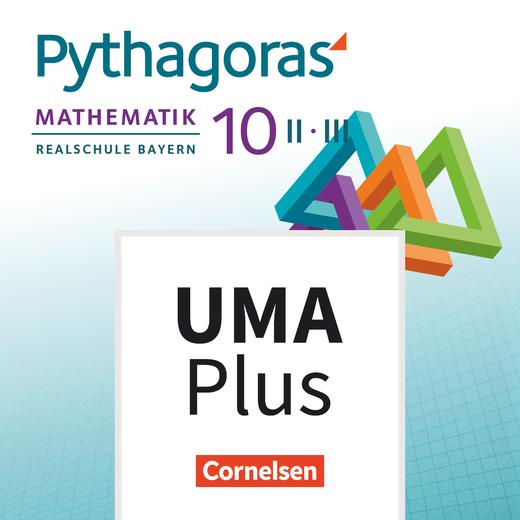 Pythagoras - Unterrichtsmanager Plus - mit Download für Offline-Nutzung - 10. Jahrgangsstufe (WPF II/III)