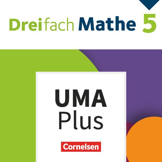 Dreifach Mathe - Unterrichtsmanager Plus - mit Download für Offline-Nutzung - 5. Schuljahr