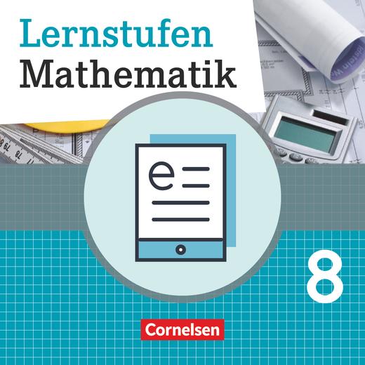 Lernstufen Mathematik - Schülerbuch als E-Book - 8. Schuljahr
