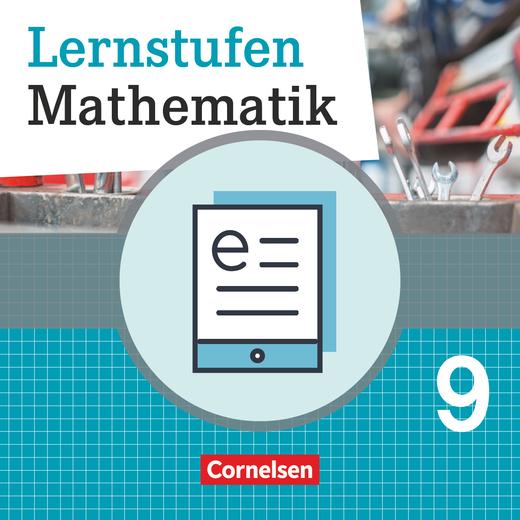 Lernstufen Mathematik - Schülerbuch als E-Book - 9. Schuljahr